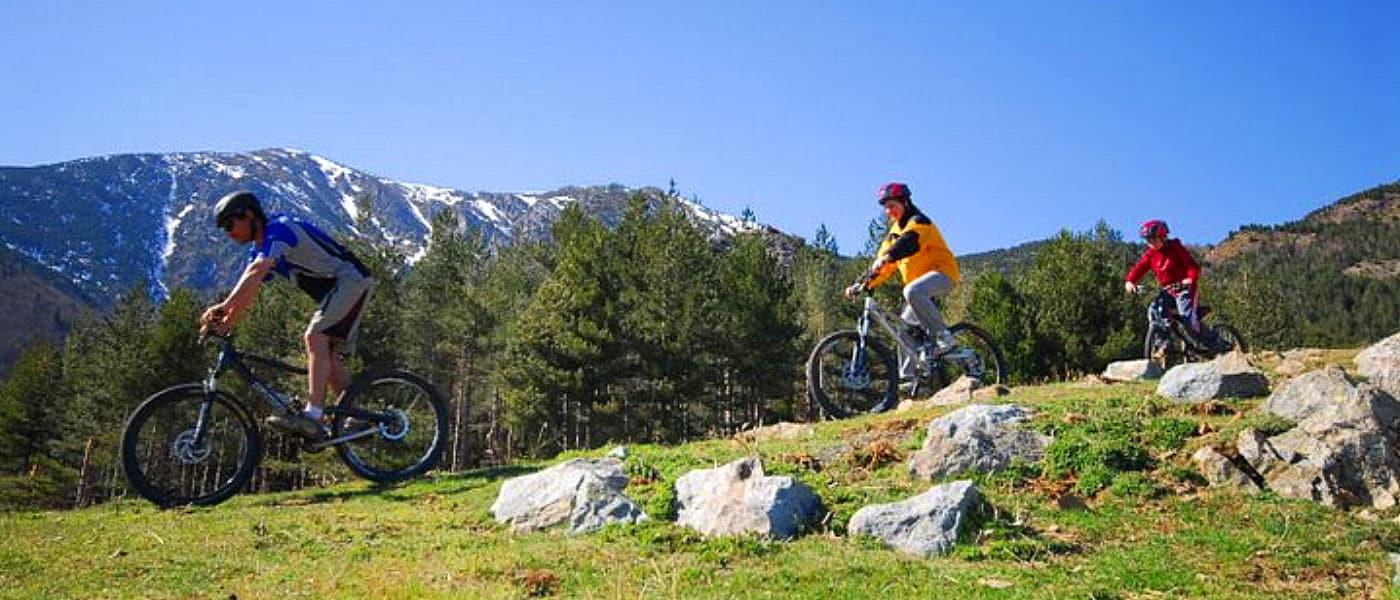 Vtt à Céret - Pyrénées Orientales